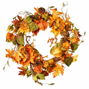 jcpenney.com | National Tree Co 25 Inch Sunflower Wreath