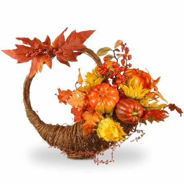 jcpenney.com | National Tree Co. 23 Inch Pumkin And Sunflower Tabletop Decor