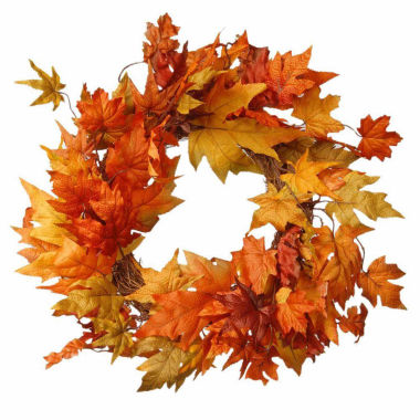 jcpenney.com | National Tree Co. 24 Inch Maples Wreath