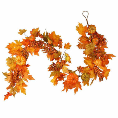 jcpenney.com | National Tree Co. 70 Inch Maples And Pumpkin Garland