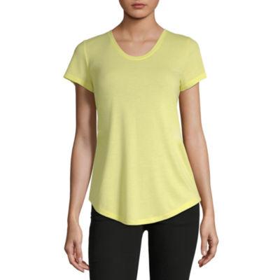 654aad5e804f4 a.n.a Womens Scoop Neck Short Sleeve T-Shirt