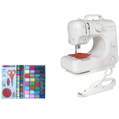 jcpenney.com | Michley LSS505 Mini Sewing Machine + Electric Scissors & 100-pc. Sewing Kit