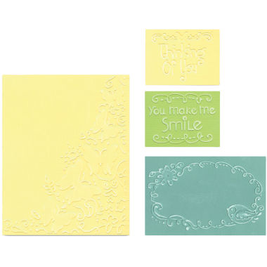 jcpenney.com | Sizzix® Textured Impressions™ 4-pc. Butterfly Migration Embossing Set