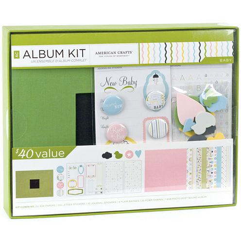 """Baby Album Kit - 8 x 8"""""""