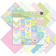 Snuggle Bug Designer Double-Sided Paper Pad-36 Sheets