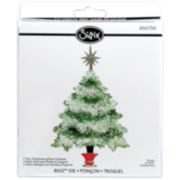 Sizzix® Bigz™ Die, Christmas Tree With Star and Stand
