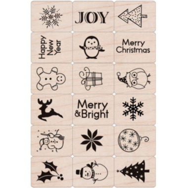 jcpenney.com | Hero Arts Ink 'n Holiday Stamp Set