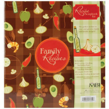jcpenney.com | 3-Ring Family Recipes Scrapbook Kit