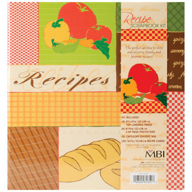 jcpenney.com | 3-Ring Recipes Scrapbook Kit