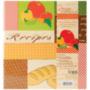 3-Ring Recipes Scrapbook Kit