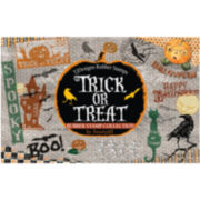 Rubber Trick or Treat Stamp Set