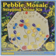 Milestones Pebble Mosaic Stepping Stone Kit