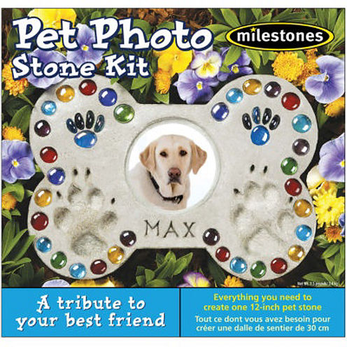 Milestones Pet Photo Stone Kit