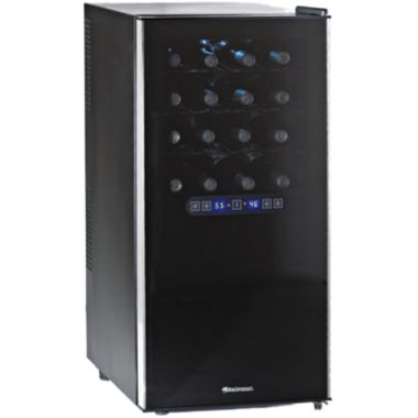 jcpenney.com | Wine Enthusiast® 32-Bottle Silent Dual Zone Touchscreen Wine Refrigerator
