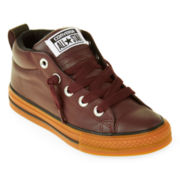 Converse Chuck Taylor Boys Leather Sneakers - Little Kids/Big Kids