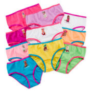 Total Girl® 10-pk. Doggie Days Briefs - Girls 4-14