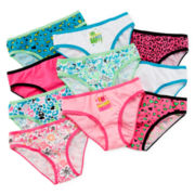 "Total Girl® 10-pk. ""Happy"" Bikinis - Girls 4-14"
