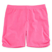 Total Girl® Ruched Bike Shorts - Girls 7-16 and Plus