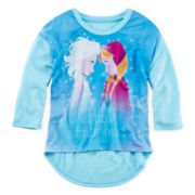 Frozen Long-Sleeve Sisters Top - Girls 7-16