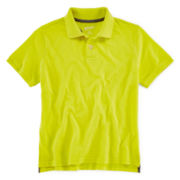 Arizona Short-Sleeve Solid Knit Polo - Boys 8-20 and Husky