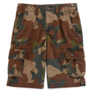 Arizona Twill Camo Cargo Shorts - Boys 8-20, Slim and Husky