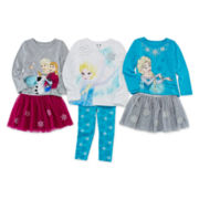 Disney Apparel by Okie Dokie® Tee, Tutu or Leggings - Toddler Girls 2t-5t