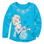 Disney Apparel by Okie Dokie® Frozen Tee - Preschool Girls 4-6x