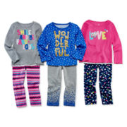 Okie Dokie® Long-Sleeve Tee or Printed Leggings - Toddler Girls 2t-5t
