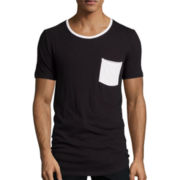 Arizona Long-Length Curved-Hem T-Shirt