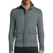 WD.NY Mockneck Sweater Jacket