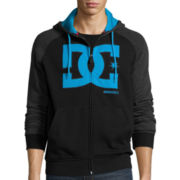 DC® Two-Toned Fleece Full-Zip Hoodie