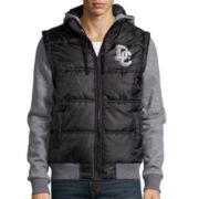DC® Black Hooded Jacket