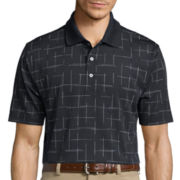 PGA TOUR® Jacquard Space Polo
