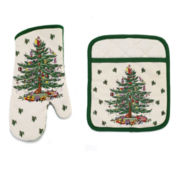 Avanti Spode® Christmas Tree Oven Mitt and Potholder
