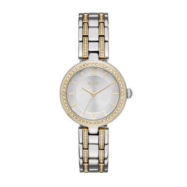 jcpenney.com | Relic Womens Two Tone Bracelet Watch-Zr34377