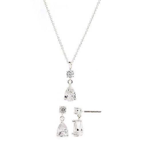 Sparkle Allure Cubic Zirconia Jewelry Set