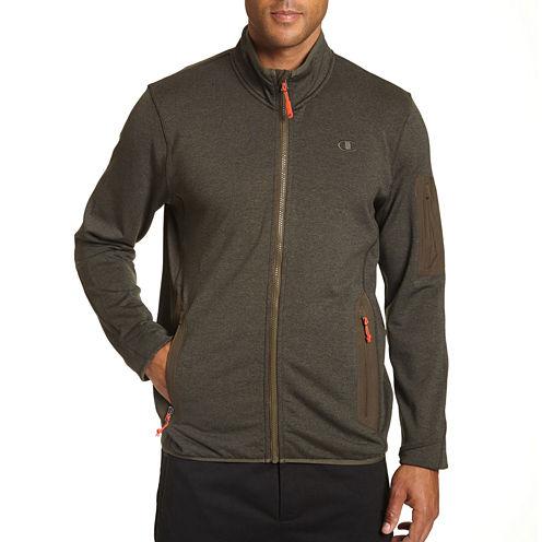 Champion Mens 4-Way Stretch Sports Knit Jacket