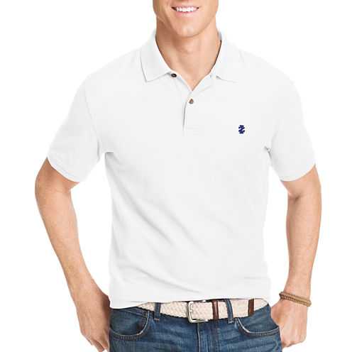 IZOD Slim Fit Short Sleeve Solid Polo Shirt