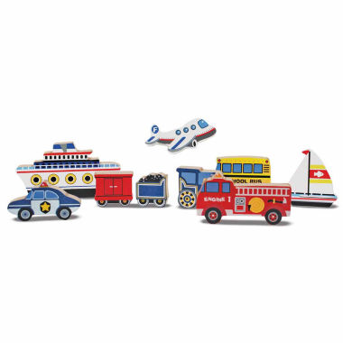 jcpenney.com | Melissa & Doug® Chunky Wooden Vehicles Puzzle