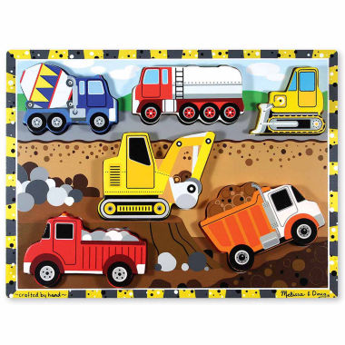 jcpenney.com | Melissa & Doug® Chunky Wooden Construction Puzzle