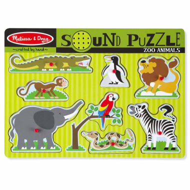 jcpenney.com | Melissa & Doug® Zoo Animal Sound Puzzle