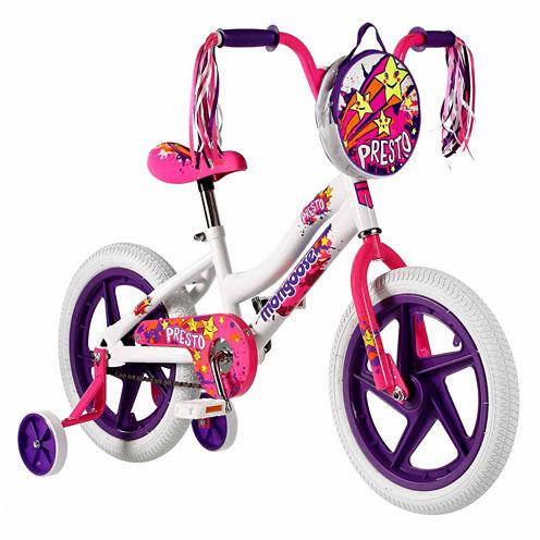"Mongoose Presto 16"" Girls BMX Bike"