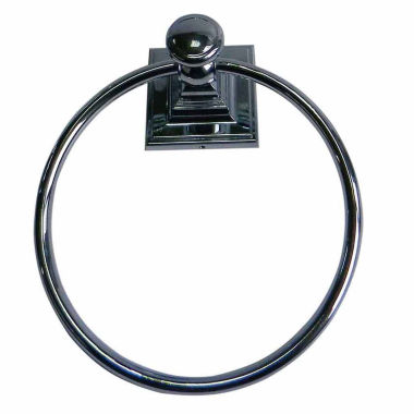 jcpenney.com | Elegant Square Wall Mount Towel Ring