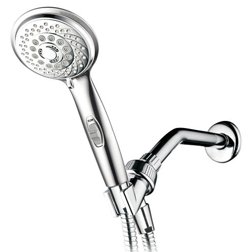 HotelSpa® AquaCare Series 7-Setting Hand Shower Luxury Convenience Package with Patented ON/OFF Pause Switch
