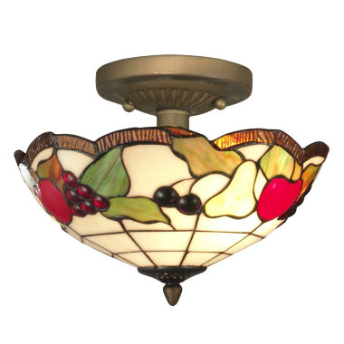 jcpenney.com | Dale Tiffany™ Fruits Semi Flush Mount