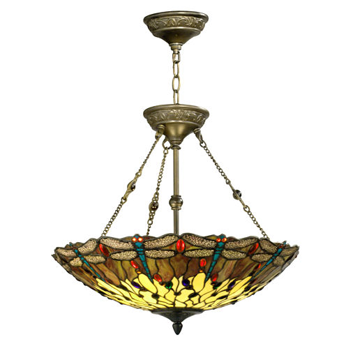 Dale Tiffany™ Corrall Dragonfly Hanging Fixture