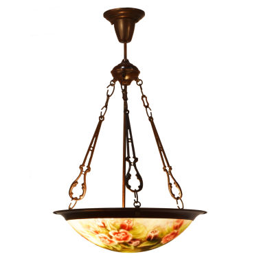 jcpenney.com | Dale Tiffany™ Flat Rose Handale Hanging Fixture