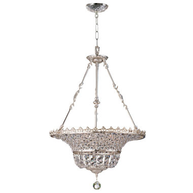jcpenney.com | Dale Tiffany™ Kreigal Inverted Crystal Hanging Fixture