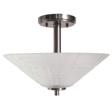 jcpenney.com | Dale Tiffany™ LED Soloman Semi Flush Mount