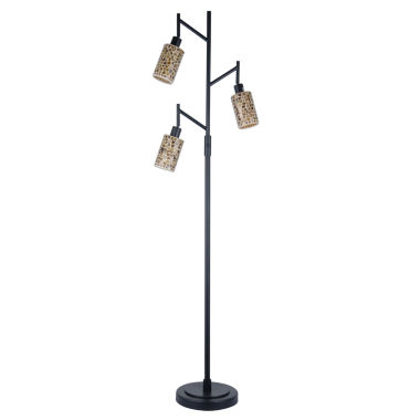 jcpenney.com | Dale Tiffany™ Knighton 3-Light Mosaic Floor Lamp